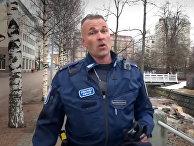 Поющий полицейский из города Оулу, Финляндия