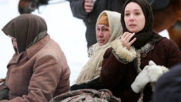 """Съемки сериала """"Зулейха открывает глаза"""" в Татарстане"""