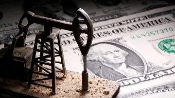 Нефтяной насос и доллары