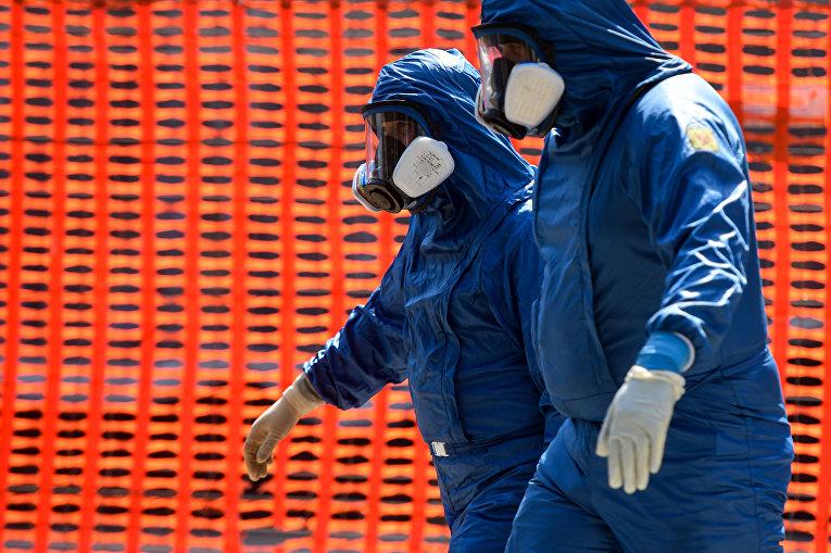 Российские медики в Италии