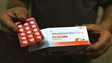 Таблетки гидроксихлорохина