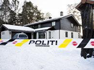 11 января 2019. Полиция обыскивает дом миллиардера Тома Хагена, Норвегия