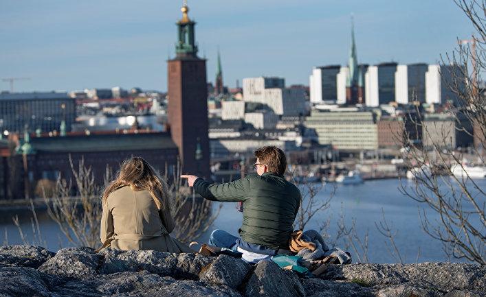 22 апреля 2020. Шведы гуляют в Стокгольме