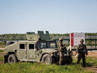 Солдаты на военной базе Редзиково в Польше