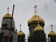 """Строительство главного храма Вооруженных Сил в парке """"Патриот"""""""