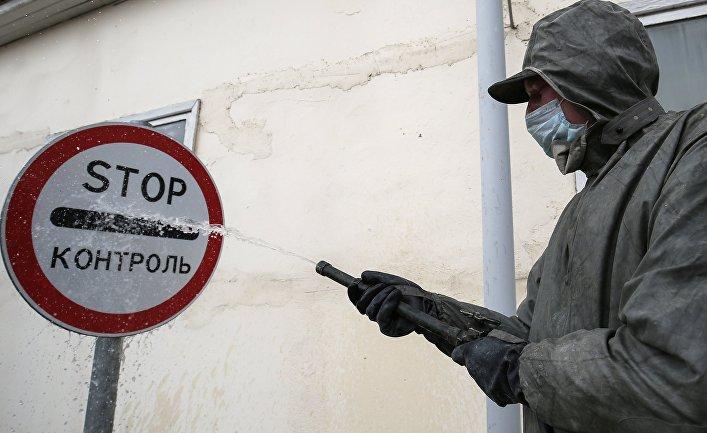 """Дезинфекция завода """"Каскад"""" в Краснодаре"""