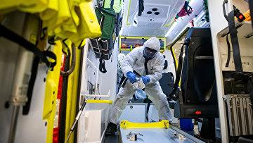 Работа скорой помощи в Стокгольме, Швеция