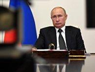 Президент РФ В. Путин провел совещание с представителями общественности Дагестана