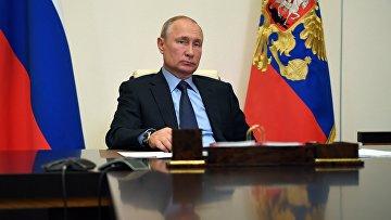 Президент РФ В. Путин провел совещание о развитии генетических технологий в РФ