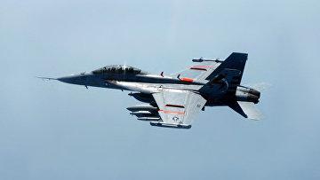 Боинг EA-18 «Гроулер» — палубный самолёт радиоэлектронной борьбы ВМС США