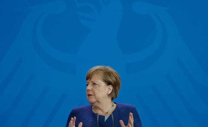 20 мая 2020. Ангела Меркель в Берлине, Германия