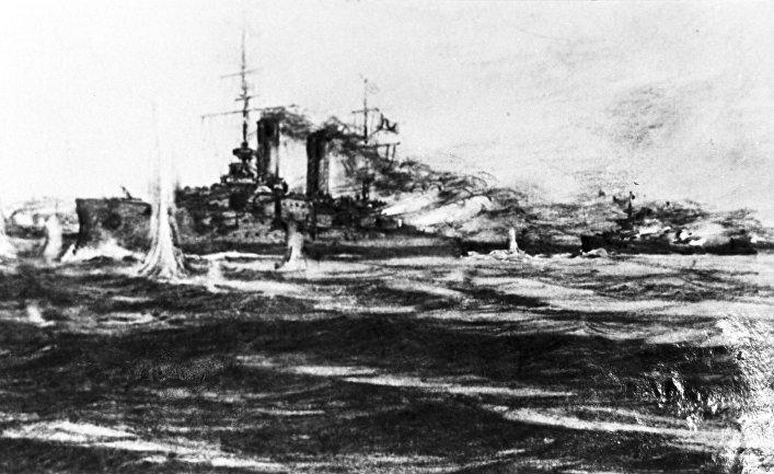 JB Press (Япония). 115-я годовщина сражения в Цусимском проливе.