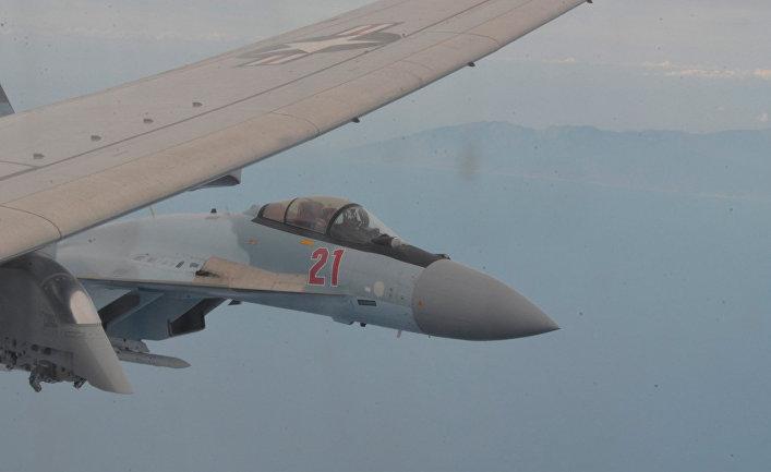 Российский истребитель Су-35