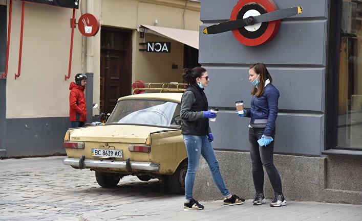 Жители Львова во время пандемии коронавируса