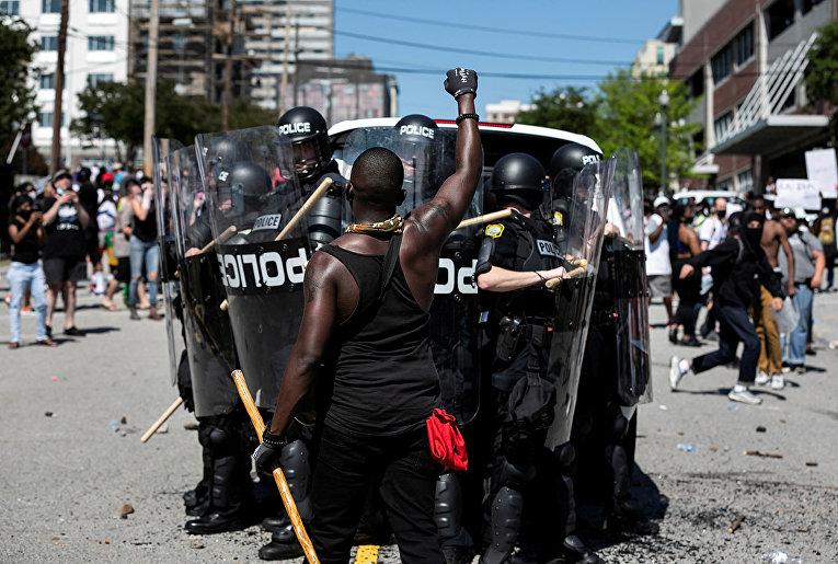 Протесты в Колумбии, Южная Каролина