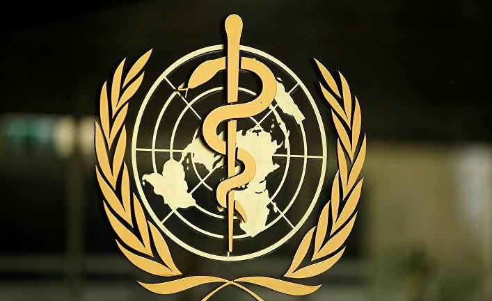 Логотип Всемирной организации здравоохранения