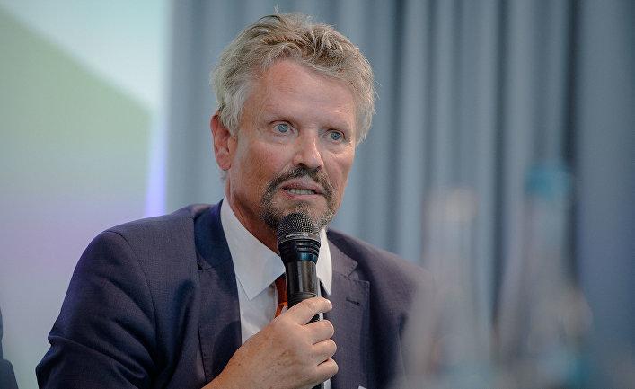 Немецкий политик Гернот Эрлер