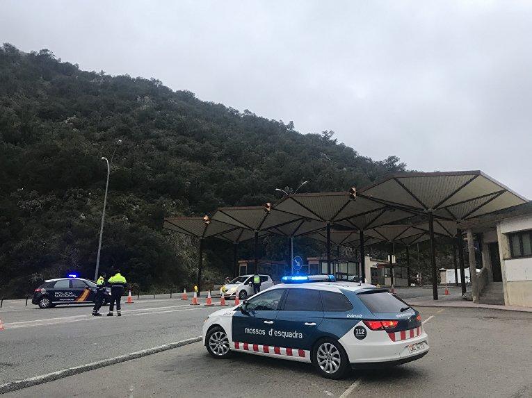 Пост полиции в муниципалитете Ла-Жункера, Испания