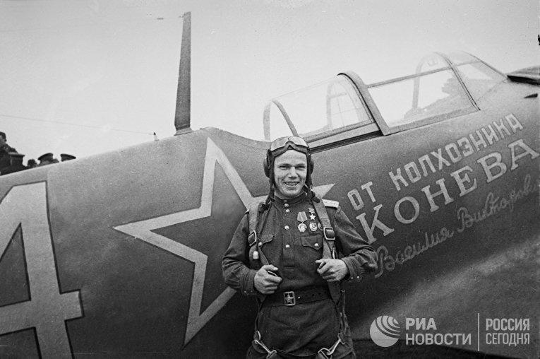 Герой Советского Союза, командир 240-го ИАП Иван Кожедуб