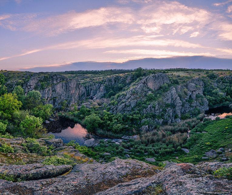 Актовский каньон, Николаевская область, Украина