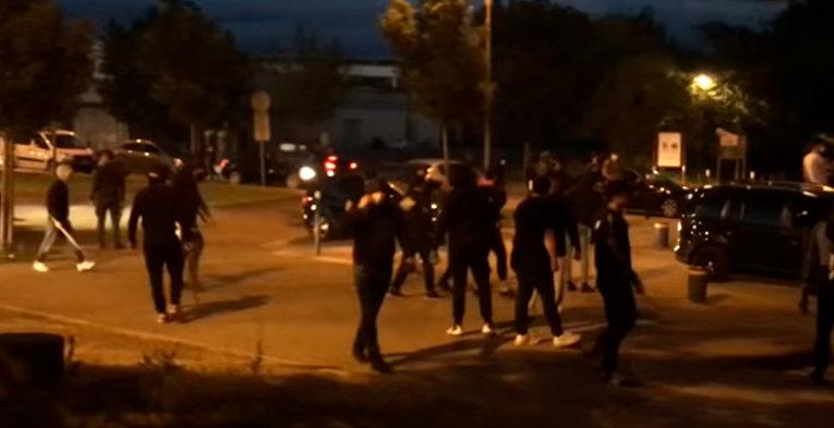 Банды магрибцев и чеченцев несколько дней воюют в Дижоне