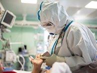 """Центр """"НМИЦ здоровья детей"""" Минздрава РФ, где проходят лечение дети с COVID-19"""