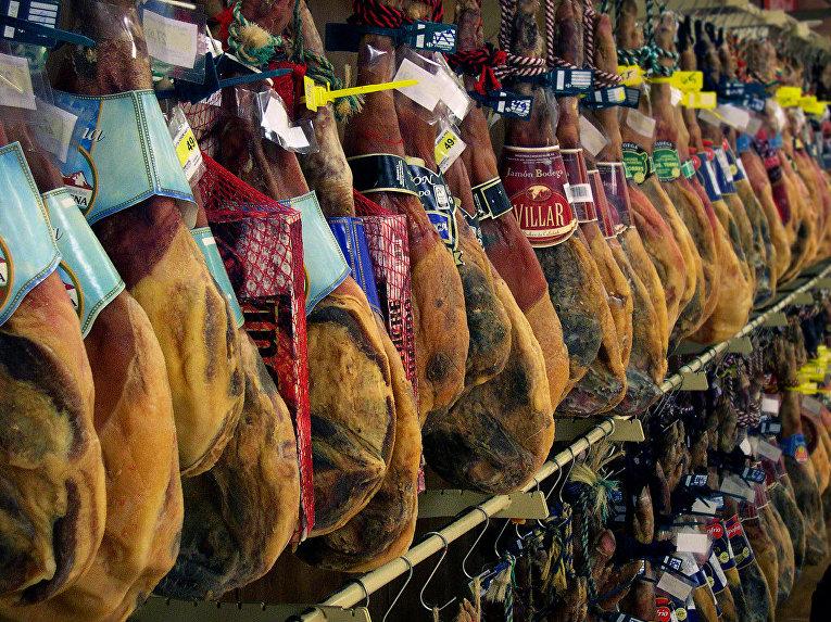 Хамон,  испанский национальный деликатес