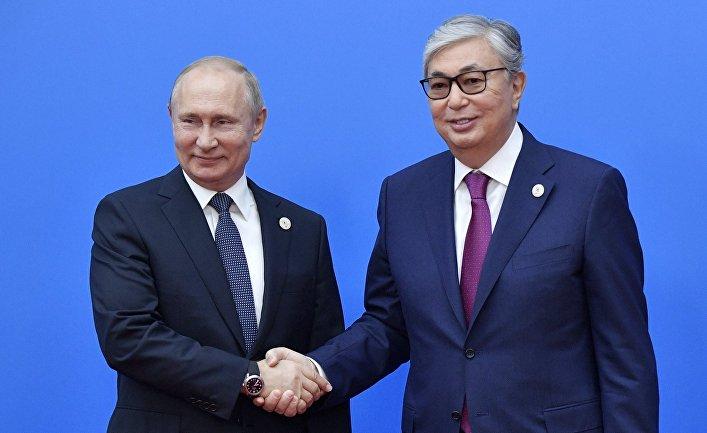 Президент РФ В. Путин принимает участие в заседании Высшего Евразийского экономического совета