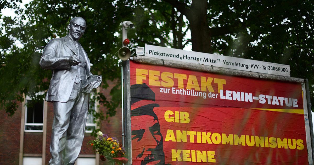 Читатели «Брейтбарт» об установке статуи Ленина в немецком городе: ну разве это не русский сговор?