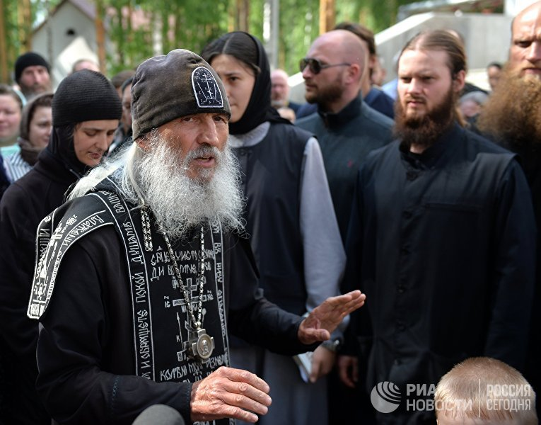 Схиигумен Сергий в Среднеуральском женском монастыре
