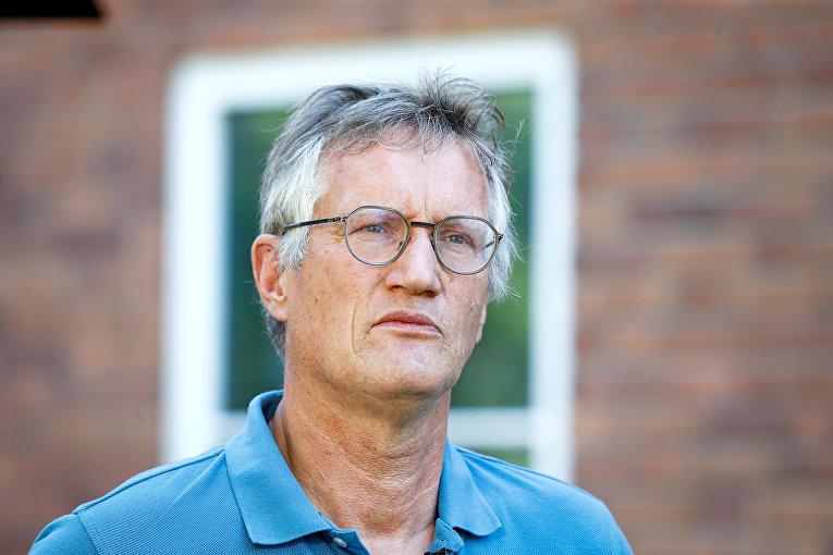 Главный эпидемиолог Швеции Андерс Тегнелль
