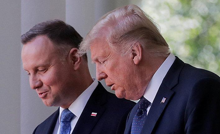 Встреча Дональда Трампа и Анджея Дуды в Вашингтоне