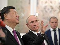 Мероприятия с участием президента РФ В. Путина в рамках государственного визита в РФ председателя КНР Си Цзиньпина