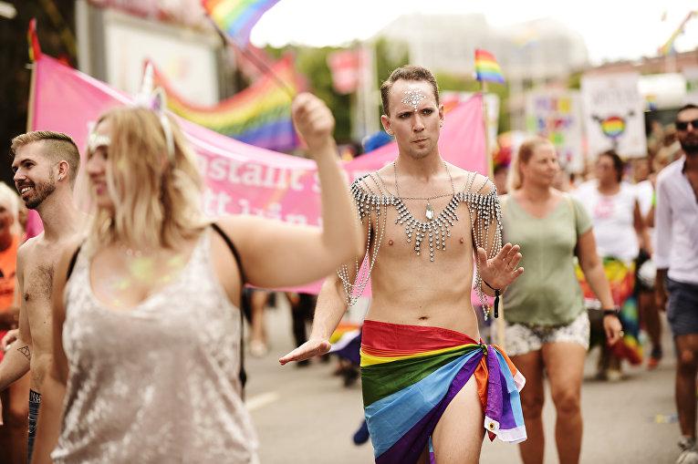 4 августа 2018. Прайд-парад в Стокгольме, Швеция