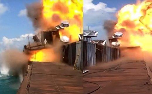 Украинские ракеты «Нептун» потопили две цели в Черном море