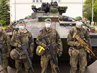 Солдаты немецкого бундесвера