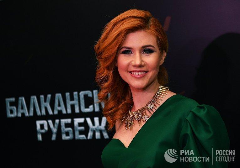 Телеведущая Анна Чапман