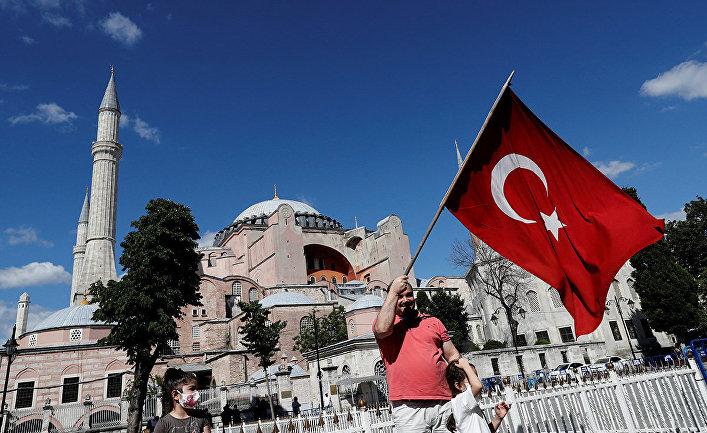 Cобор Святой Софии в Стамбуле, Турция