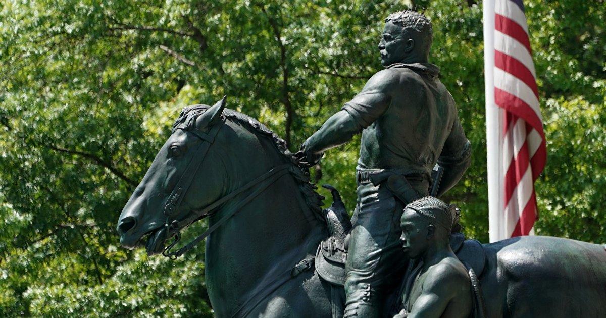 La Vanguardia (Испания): русский меценат хочет перевезти в Россию памятник Теодору Рузвельту, который демонтируют в США
