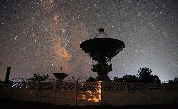 Антенный комплекс центра дальней космической связи в Крыму