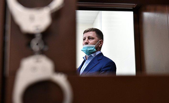 Избрание меры пресечения губернатору Хабаровского края С. Фургалу