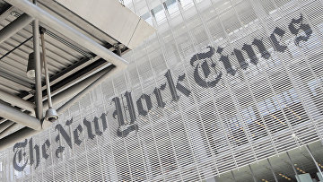 Здание редакции газеты The New York Times в Нью-Йорке