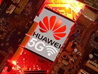 Смартфон с сетью Huawei 5G