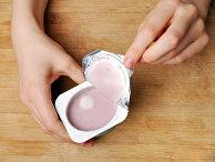 Йогурт с плесенью