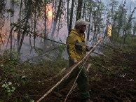 Ликвидация пожаров в Красноярском крае