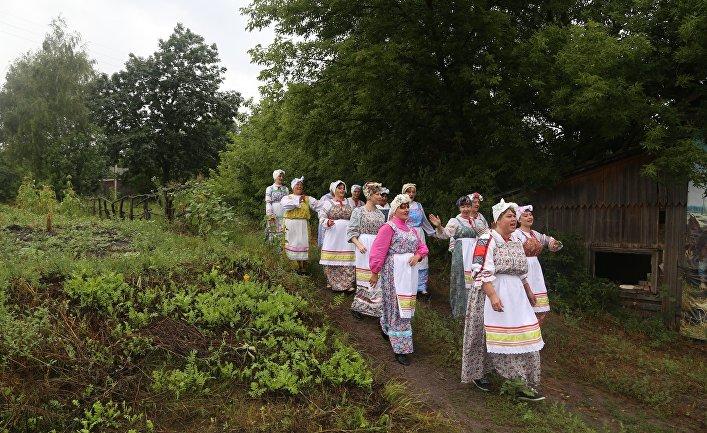 """Фестиваль """"Я - русский крестьянин"""""""