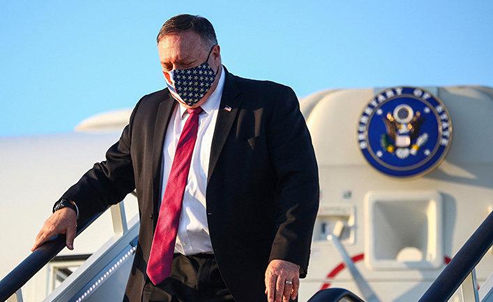 Госсекретарь США Майк Помпео