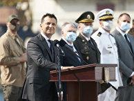 Владимир Зеленский в Одессе в День ВМФ Украины