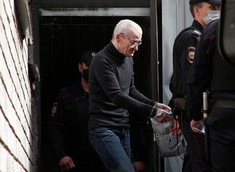 Российский историк Юрий Дмитриев