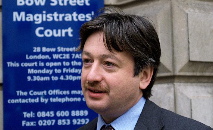 Российский бизнесмен Александр Темерко в Лондоне